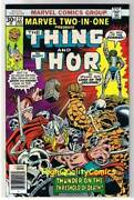 Marvel Two-in-one 22, Nm-, Thing, Thor, Death, 1974, More Marvel In Store