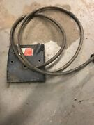 Ammco Brake Lathe Electrical Panel-power Switch-wall Cord-pigtail Cord Free Ship