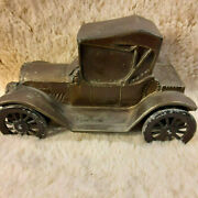 The Northwestern Bank Coin Slotted Bank Car 1915 Chevy Roadster Cast