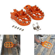 Foot Pegs Rests Pedals For Sxs Exc Mxc Sxf Excf Xc Xcf Sx Xcw Smr Smc Tc Te