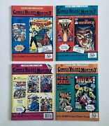 Comics Values Monthly, By Attic Books, Jul, Sep, Oct 1991, May 1992, All Nm