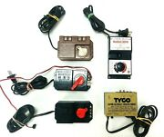 Vintage 5 Pcs Lot Power Packs Hobby Transformer Ac Dc Tested And Works