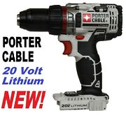 New Porter Cable Pcc600 Pcc600b 20v 20 Volt 1/2 Lithium Drill Driver Tool Only