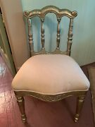 Unique Anglo Indian Antiques Chair Teak With Silver Tone Metal Sheathing