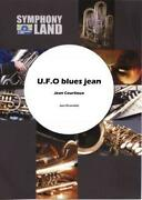 U.f.o. Blues Jean Jean Courtioux Jazz Ensemble Learn Play Music Score And Parts