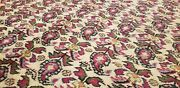 Bohemian 1930-1940s Antique Wool Pile Natural Dye Bunyan Area Rug 6and0391andtimes9and0398