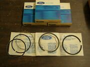 Nos Oem Ford 1960 1967 170 Piston Rings Falcon Econoline Mustang 1964 1965 1966