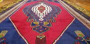 Luxurious Antique 1900-1939s Wool Pile Natural Color Bohemian Area Rug 5and039x10and0398