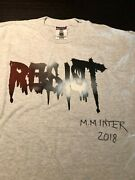 Marilyn Minter Signed Limited Edition Swing Left Resist T-shirt Autographed Tee