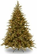 Feel Real Pre-lit Artificial Christmas Tree,includes Pre-strung Led Lights An...