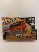 Nerf Ultra Two Motorized Blaster Fast Back Reloading Includes 6 Ultra Darts