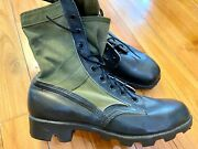 New 1985 Genuine Us Military Jungle Boots - Size 11r