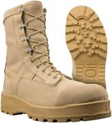 Us Army Desert Combat Boots - Leather Gortex Rubber - 790v Belleview Temperate