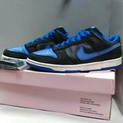 Nike Made 2004 China Dunk Low Pro Sb Sneakers Black Blue Men's Shoes Size Us10