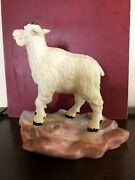 Rare Burgues Limited Edition Ceramic Young Mountain Goat
