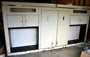 John Bean Visualiner Cabinet 1940and039s-50and039s Survivor Gas Oil Collectible