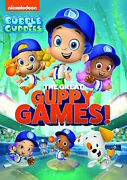Bubble Guppies Dvd - The Great Guppy Games 2020 - New Unopened - Nickelodeon