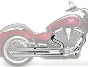 Victory Motorcycle Chrome Stage 1 Straight Exhaust Vegas 2878200-156