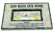Large Wall Last Supper Hanging Mother Pearl Art Handmade Jesus Decor Christian