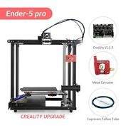 Newly Official Creality Ender-5 Pro 3d Printer Diy Silent Motherboard Us Stock