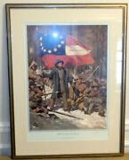 The Stars And Bars By Don Troiani Limited Edition Art Print Hand Signed Good