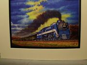 Wabash Cannonball By Artist Railroad Archives We