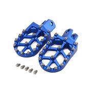 Motorcycle Foot Pegs For Klx400r Rm125 Rm250 Rm250z Drz400 400e