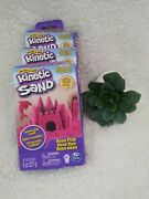 Kinetic Sand 8 Oz. Pink Spin Master Toys Lot Of 3 Fast Free Ship New Sealed