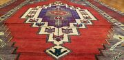 Exquisite Antique Wool Pile Vibrant Color Bohemian Konya Area Rug 4and0394and039and039x7and0392