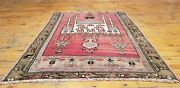 Exquisite Authentic Antique Tribal Natural Dyes Wool Pile Prayer Rug 2andrsquo4andrdquox 3andrsquo3andrdquo