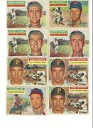 1956 Topps Autographed Collection 106 Signed Cards Sold As A Lot 10 A Piece