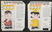 Peanuts Gang Hungerford Vinyl Figure 1958 Product Brochure Lucy Linus