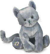 Nwt Webkinz Original Full Size Retired Charcoal Cat New With Code