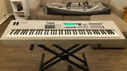 Excellent Condition Yamaha Mo8 88-key Keyboard Includes Pedal And Case