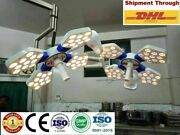 Ossio 404 Led Ot Light 135000 Lux Double Dome Ceiling Ot Lamp Surgical Light @s
