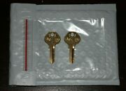 102r76-104r90 2-replacement Keys For Master Lock Cut To Key Code By A Locksmith