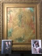Andy Warhol Superstar Holly Woodlawn Rare Painting