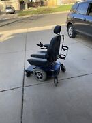 Pride Jazzy 614hd Power Chair With Oxygen Tank Attachment 450 Lb Capacity