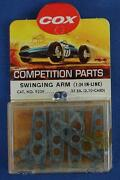 Cox 124 Scale Competition Slot Car Racing Chassis Inline Swinging Arms 9239