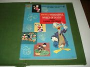 1961 Scarce Golden Picture Story Book, Ludwig Von Drake Comic, Donald Duck