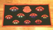 Spectacular 1935 Princeton Tigers Football National Champs Felt Pennant Banner