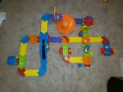 Vtech Go Go Smart Wheels Train Station Playset Used - Complete No Instructions
