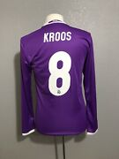 Real Madrid Kroos 6 Germany Player Issue Adizero Prepared Shirt Football Jersey