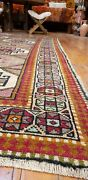 Exquisite Antique 1930-1948and039s Wool Pile Nagorno-karabakh Area Rug 3and0396andtimes5and0399