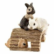 Schleich Playing Baby Rabbits Toy Figure