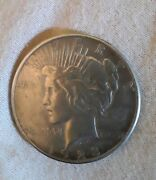 1923-s Peace Liberty Silver One Dollar Coin