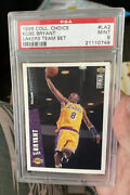 1996-97 Ud Upper Deck Collector's Choice Kobe Bryant Rc/rookie Card Psa 9 Mint