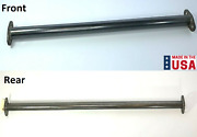 Front And Rear Straight Spreader Bars For 1932 Ford Frame - Steel Made In Usa