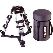 Miller Baby Aluminum 2-stage Tripod Legs 100mm Bowl With On-ground Spreader