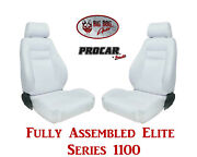 Procar Full Bucket Seats 80-1100-53 Elite 1100 Series For 1978 - 79 Ford Bronco